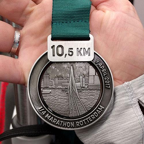 Medaille 1/4 marathon