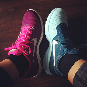 Nike LunarGlide en Pegasus